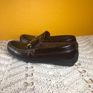 Gucci Shoes - GUCCI Womens Brown Leather Horse Bit Casual
